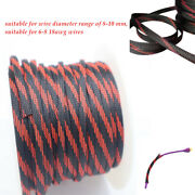 8mm Car Power Expandable Braided Conduit Wire Cable Weave Sleeve Hose Cover Tube