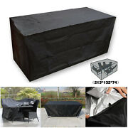 Heavy Superior Waterproof Patio Furniture Covers Outdoor Furnitute Coverblack