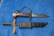 Soviet, Russian Bayonet And Scabbard 6х3, Not Reproduction See Actual Photos