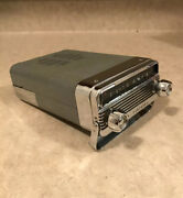 1958 Oldsmobile Trans Portable Delco Am Radio With Knobs 58 Olds