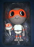 Signed Mike Mitchell Lil Mikey Variant Gray Vinyl Figure Mondo Con Tmnt Rare
