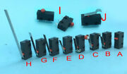 Lots Kw12 Micro Switch Spdt Hinge Roller Lever 5a125v Ac 250v Microswitch