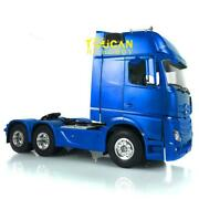 1/14 Rc Hercules Benz Actros 1851 64 Kit 35t Motor Tractor Truck Painted Model