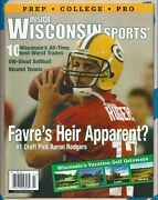 Aaron Rodgers Inside Wisconsin Sports Magazine July 2005 Green Bay Packers -4129