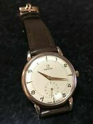 Omega 332 Hammer Ref. 2398 1 Gold Plated Menandrsquos Vintage Watch