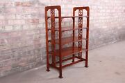 Baker Furniture Historic Charleston Carved Mahogany Four-tier Étagère Or Table
