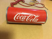 Coca Cola Land Phone 100th Celebration Limited Vintage Rare Made In Japan F/s H4