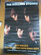 1964-1971 The Rolling Stones Hot Rocks 39x62 Poster Mick Jagger Keith Richards