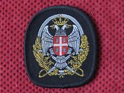 Army Of The Republic Of Serbia - Military Police Beret Patch Officer