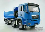 Lesu 1/14 88 Rc Front Hydraulic Lifting Dumper Truck Painted Man Model Sound