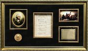 George Washington Signed Presidential Revolutionary War 1783 Discharged Document