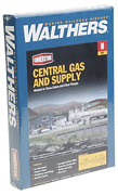 Walthers Scenemaster Central Gas And Supply - Kit Train Collectable Train