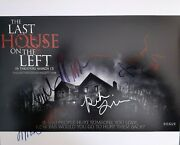 Last House On The Left Signed 8x10