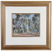 Fine Henri Matisse And039les Oliviersand039 Pochoir Hand Painted Coa Not Hand Signed 1924