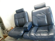 Front Seat Leather Power Pair Cadillac Sedan Deville 91 92 93