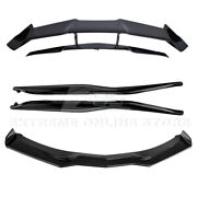 Zr1 Style Painted Carbon Flash Body Aero Kit For 14-19 Corvette C7 Wide Body