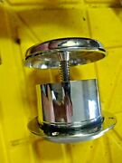 Stainless Steel 4.25 Co Screw Opening Mushroom Vent Boat 5 H Open 2.5 Close