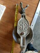 Vintage Sherman And Reilly Aluminum Swing-open Commercial Fishing Pulley Block