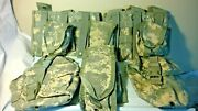 9 Pouches 3 Double Mag 2 Triple 1 Canteen First Aid Kit Ifak 2 Hand Grenade