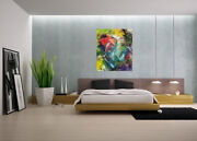 Modern Walldecorabstract Large Colorful Painting Acrylic Canvasartfire Works