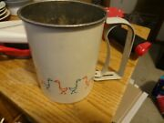 Vintage Kitchen 1950-60s Androck Made In U.s.a. Duck Flour Sifter
