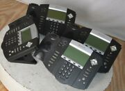 Lot Of 4polycom Soundpoint Ip550 Sip 2201-12550-001 See Notes