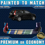 New Painted To Match Rear Upper Bumper Replacement For 2010 2011 Honda Crv 10 11