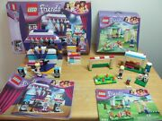 Lego Friends 41004 Rehearsal Stage And 41011 Stephanie's Soccer Practice, Complete