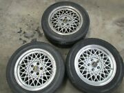 Jjd Twin Tyres 5x4.5 Rare 5x114.3mm 66.56mm Bore. Made By Crimson Japan