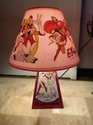 Sailor Moon Shade Lamp 35 Cm Coloring Contest Prize Vintage From Japan Rare Mint