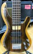 Used Aria ProⅡbass Guitar 5-strings Igb-55rose Rosewood And Alder With Case