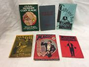 6 Vintage Books On Magic Tricks Magic For Home And Stage