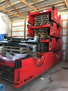 Oem Factory 17-19 Super Duty 8and039 Long Bed New Take Off Race Red Pq Truck Box