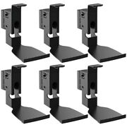 6x Swivel Speaker Wall Mount Bracket For Sonos Play 5 Steel W/ Cable Management
