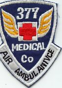 Theatre Made 377th Medical Company Air Ambulance Pocket Patch