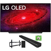 Lg 55 Cx 4k Smart Oled Tv W/ Ai Thinq 2020 + Lg Sn8yg Sound Bar Bundle