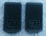 Sunbeam Talbot 90 Alpine 1950s New Pair Brake And Clutch Pedal Rubber Pads St