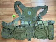 Nwot- So Tech Assault Chest Harness System, Coyote Brown