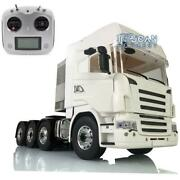 Fs I6s 1/14 Lesu Metal Chassis Diy Hercules Highline Scania Cab Rc Tractor Truck