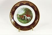 Royal Falcon Plate Ware Weatherby Made In England Plate 9 Inches Round