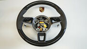Porsche 991 970 95b 958 Multifunction Airbag Steering Leather Agate Gray Carbon