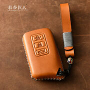 Lexus Leather Key Chain Ring Cover Case Shell Holder Rx300 Nx200 Nx300h F Sport