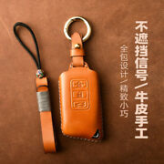 Lexus Rx300 Nx200 Nx300h F Sport Leather Key Chain Ring Cover Case Shell Holder