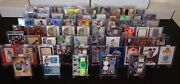 Huge Stl Cardinals Auto And Relic Card Collection 65 Cards