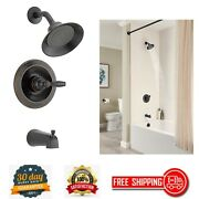 Bathroom Tub And Shower Faucet Trim Kit Oil Rubbed Bronze Valve Not Included