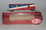 Concor N Scale 50and039 Grain Boxcar N.p. Bonds Rapido Couplers