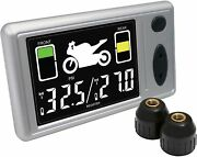 Accutire Ms-4362gb Motorcycle Tire Pressure Monitor System, Free 2-3 Day Ship
