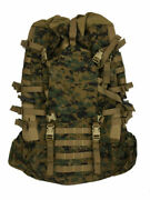 Usmc Field Pack Woodland Digital Camouflage Component Of Ilbe