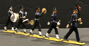 Starlux Brand 5 Piece Set Of Plastic Army/navy Military Marching Band