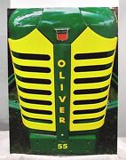 Lrg Art Print One Of A Kind Oliver Super 55 Tractor Grill And Gauges Canvas Art